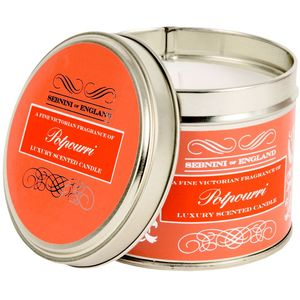 Potpourri Large Roomscenter Candle in Tin
