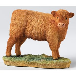 Border Fine Arts Classics Light Brown Highland Calf