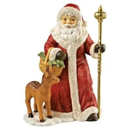 Goebel Santa Figurine - Through the Deep Winter Forest