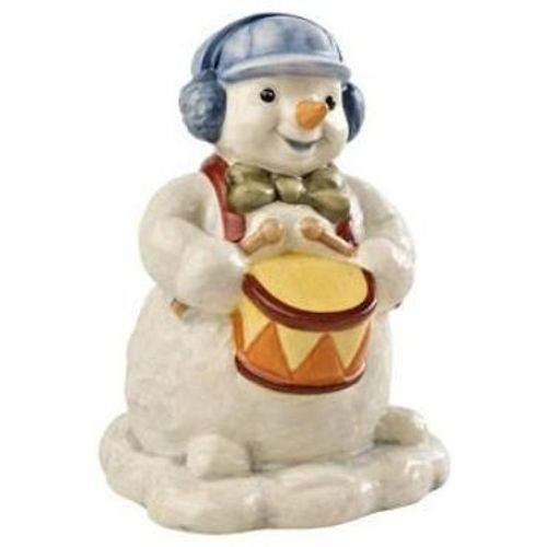 Goebel Snowman Figurine - Little Drummer Boy