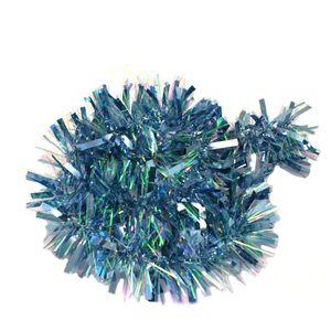 Christmas Tree Tinsel - Chunky Cut Powder Blue Pack of 2 2M Length