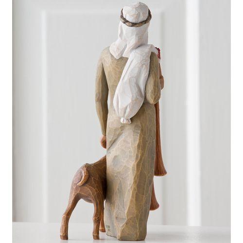 Willow Tree Nativity Zampognaro Shepherd with Bagpipes Figurine 27183
