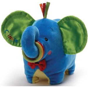 Gund Baby Jiffy Elephant Soft Toy for Newborn Boy or Girl