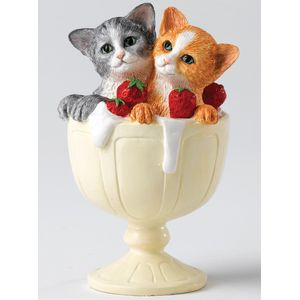 Country Artists - Delightful Duo Kittens Figurine
