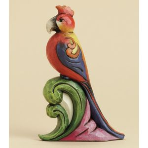 Heartwood Creek Parrot Mini Figurine