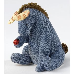 Classic Pooh - Eeyore Knitted Figurine