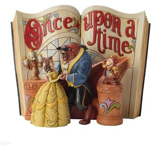 Disney Traditions Storybook Figurine - Love Endures (Beauty & the Beast)