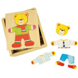 Mr Bear Wooden Puzzle