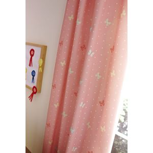 "Catherine Lansfield Kids Tab Top Curtains 66"" x 72"" - Pony"