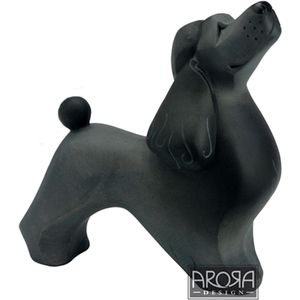 My Pedigree Pals Black Poodle Dog Figurine