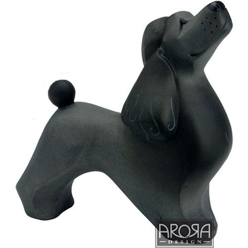 Arora Design My Pedigree Pals Black Poodle Dog Figurine