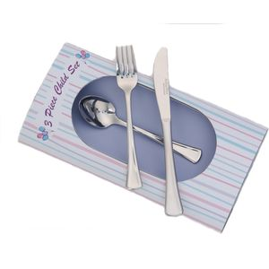 Arthur Price Kitchen Cherish 3 Piece Childs Cutlery Set