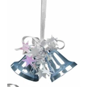 Blue Bells Christmas Tree Hanging Decorations x2