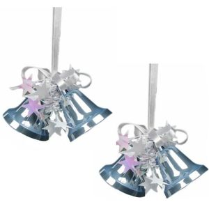 Weiste Christmas Tree Decorations Set of 2 - Blue Mini Bells