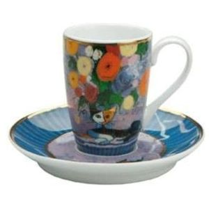 Rosina Wachtmeister Cup & Saucer Set: Innamorato