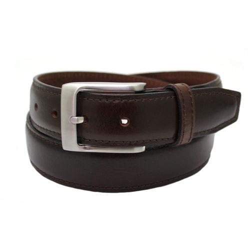 "Full Grain Leather Padded Centre Belt - Brown Size XL Waist 42"" - 44"""