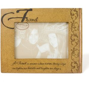 "Comfort Candles Friendship Photo Frame 6"" x 4"" - Friend"