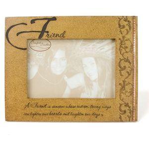 "Comfort Candles Sentiment Photo Frame 6"" x 4"" - Friend"