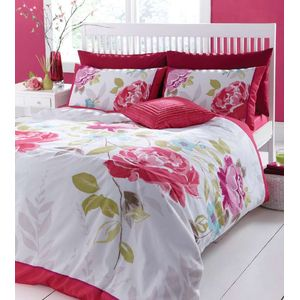 Catherine Lansfield Oriental Trail Duvet Quilt Cover Set - Double Bed