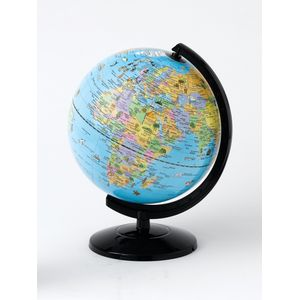 Geographical World Globe 25cm -Traditional Coloured