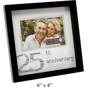 "25th Anniversary Photo Frame 6x4"""