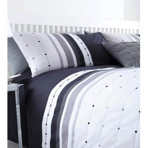 Catherine Lansfield Chicago Black Single Bed Set