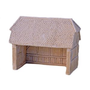 Lilliput Lane N Gauge Railway Farm Building unpainted