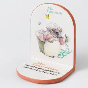 Beatrix Potter Nursery Collection Bookend - Mrs Tiggy-Winkle
