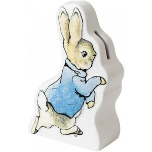 Beatrix Potter Peter Rabbit Ceramic Money Bank - Peter Running