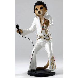 Country Artists Magnificent Meerkats Elvis Figurine