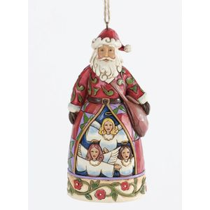 Heartwood Creek Hanging Ornament Hark The Herald Santa