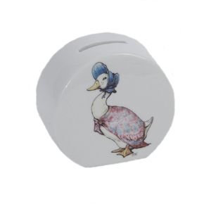 Beatrix Potter Jemima Puddle Duck Money Box