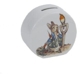Reutter Porcelain Beatrix Potter Peter Rabbit Money Box