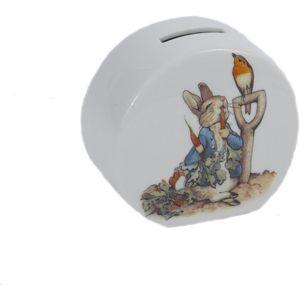 Reutter Porcelain Beatrix Potter Peter Rabbit Money Box
