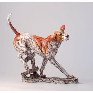 Border Fine Arts Contemporary Classic Foxhound Figurine