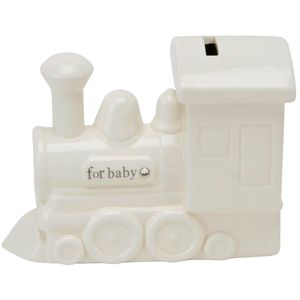 Juliana Bambino Ceramic Train Money Bank - For Baby