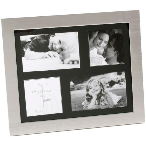 Juliana Photo Frame Aluminium Collage with 4 Apertures  NEW  20037