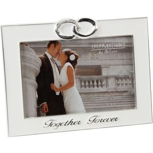 Silver Plated Photo Frame Together Forever