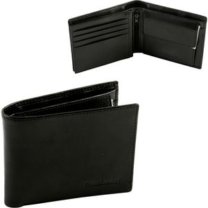 Harvey Makin Gents Leather Wallet with Embossed Logo