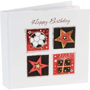 "Talking Pictures Photo Album Holds 50 6"" x 4"" Prints - Happy Birthday"