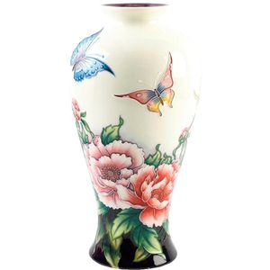 "Old Tupton Ware Butterflies Collection - Vase (13.5"")"
