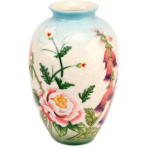"""Old Tupton Ware """"English Garden"""" 8"""" Medium Vase"""