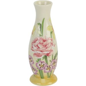 "Old Tupton Ware Sunshine pattern vase 6"""