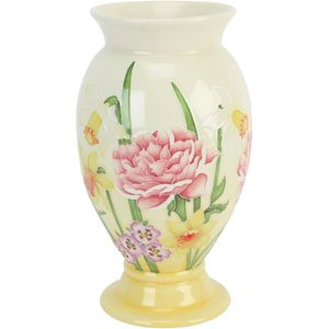 Old Tupton Ware Sunshine pattern Vase 9.5""