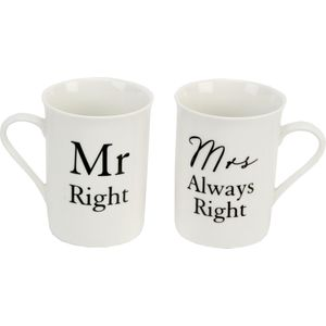 Amore Gift set - Mr Right & Mrs Always Right