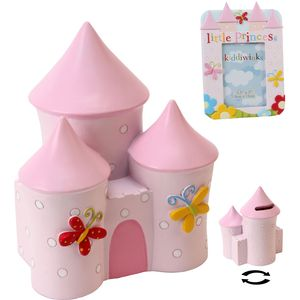 "Kiddiwinks Little Princess Money Bank & Photo Frame 3.5"" x 5"" Set"