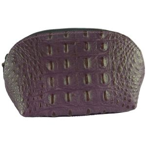 Pell Mell Coin Purse Vintage Croc (Purple)