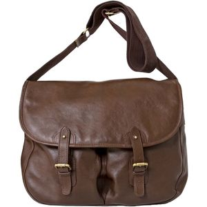 Pell Mell Large Brown Leather Game Bag
