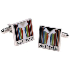 No 1 Dad Novelty Cufflinks