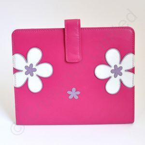 Mala Leather Enya Tablet Holder - Pink